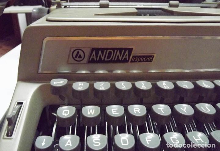 Antigüedades: Máquina de escribir Andina Modelo 90 - Foto 3 - 61508051