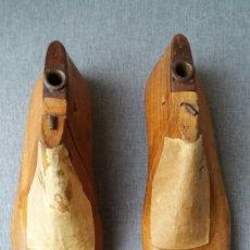 Antigüedades: HORMAS DE MADERA ANTIGUAS PARA ZAPATOS. Lote 113605479