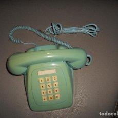 Teléfonos: TELEFONO MODELO HERALDO DE SOBREMESA COLOR AZUL TURQUESA CITESA AÑOS 70 80 BOTONES ESCASO RARO !!!!. Lote 113717955
