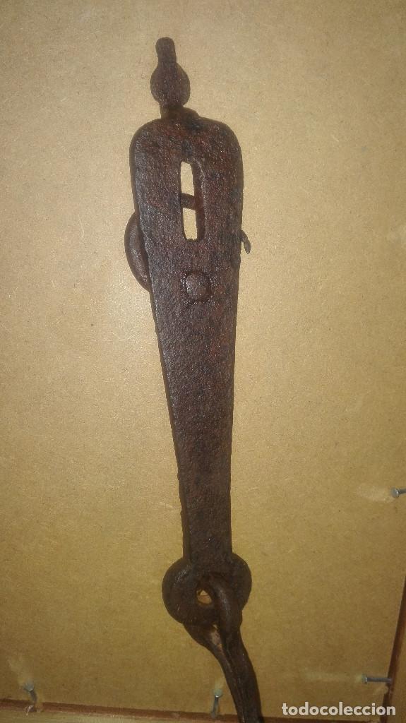 Antigüedades: cerrojo siglo XVIII - Foto 3 - 113719455