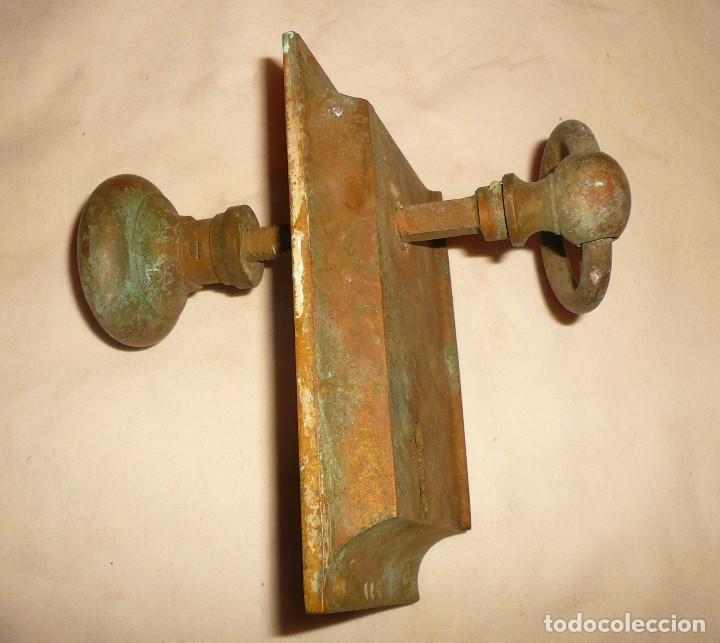 Antigüedades: CERRADURA DE BARCO Y BISAGRAS - Foto 3 - 113733519