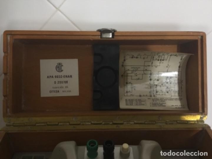 Teléfonos: Antiguo teléfono español de campaña excelentemente conservado, de Citesa, para la CTNE. - Foto 4 - 113748579