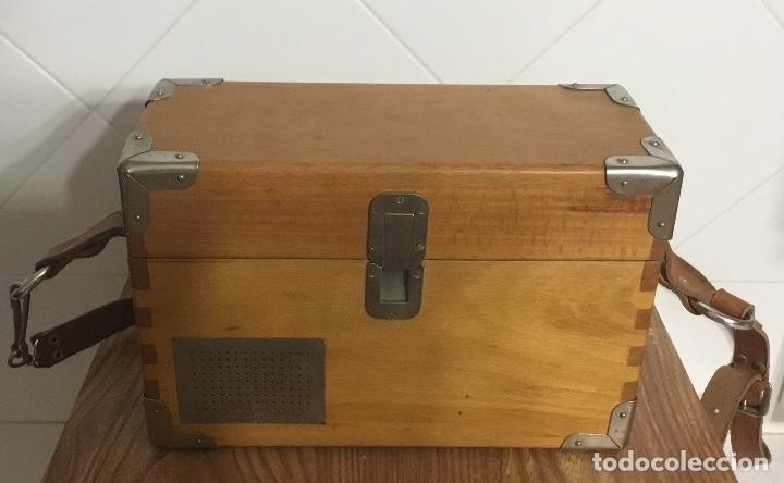 Teléfonos: Antiguo teléfono español de campaña excelentemente conservado, de Citesa, para la CTNE. - Foto 7 - 113748579