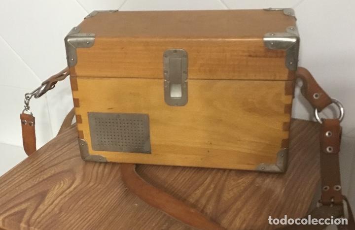 Teléfonos: Antiguo teléfono español de campaña excelentemente conservado, de Citesa, para la CTNE. - Foto 10 - 113748579