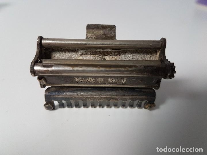 Antigüedades: ANTIGUA MÁQUINA DE AFEITAR VALET ( AÑOS 20/30 ) - Foto 2 - 113776595