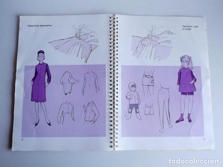 Antigüedades: Manual máquina de coser Singer 706 y 726. Tamaño 30 x 21 cm. En italiano. 84 páginas - Foto 5 - 54372385