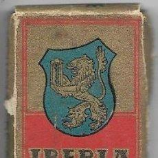 Antigüedades: == H05 - ESTUCHE IBERIA CEFINO ACANALADA - ESTUCHE CON 9 CUCHILLAS. Lote 114009491