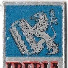 Antigüedades: == H08 - CUCHILLA DE AFEITAR IBERIA HOLLOW GROUND ACANALADA. Lote 114010103