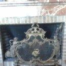 Antigüedades: CORTA FUEGOS CHIMENEA. Lote 113634115