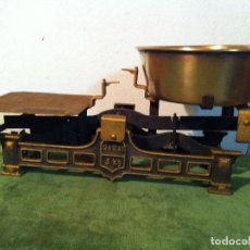 Antigüedades: EXTRAORDINARIA BALANZA MARCA GARAY CON FUERZA 5 KG (BE 01). Lote 219970440