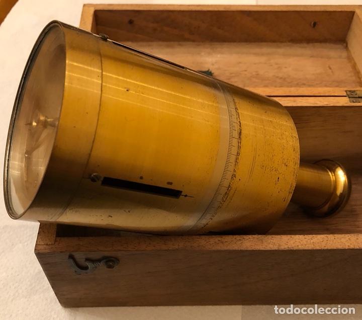 Antigüedades: Magnífico pantometra Frances con brújula - Foto 2 - 114187963