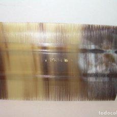Antigüedades: ANTIGUO PEINE DE ASTA...PERFECTO ESTADO DE CONSERVACION.. Lote 114208943