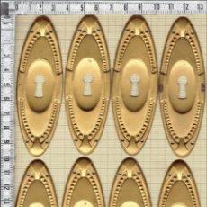 Antigüedades: ESCUDOS BOCALLAVES MUEBLES.. Lote 47127268