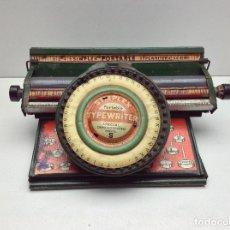 Antigüedades: MAQUINA DE ESCRIBIR ANTIGUA DE HOJALATA SIMPLEX TYPE WRITER SPECIAL DEMONSTRATED - MODEL S - U.S.A.. Lote 114363295