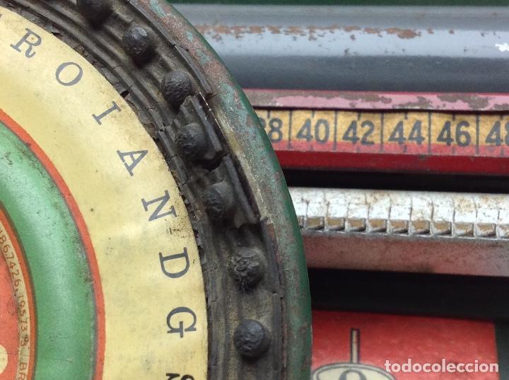 Antigüedades: MAQUINA DE ESCRIBIR ANTIGUA DE HOJALATA SIMPLEX TYPE WRITER SPECIAL DEMONSTRATED - MODEL S - U.S.A. - Foto 4 - 114363295