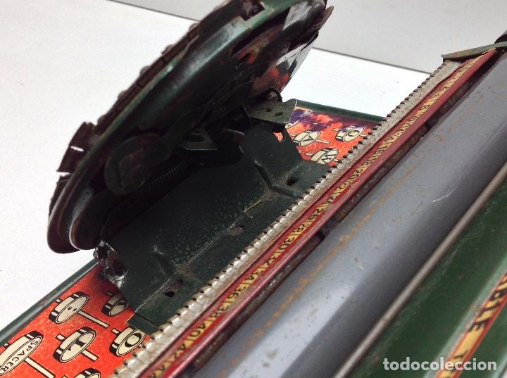 Antigüedades: MAQUINA DE ESCRIBIR ANTIGUA DE HOJALATA SIMPLEX TYPE WRITER SPECIAL DEMONSTRATED - MODEL S - U.S.A. - Foto 9 - 114363295