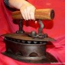 Antigüedades: ¡ÚNICA EN INTERNET! PLANCHA SPECIAL BAWEJA 20 CARBÓN GIGANTE CASI 30 CMS. Lote 114393427