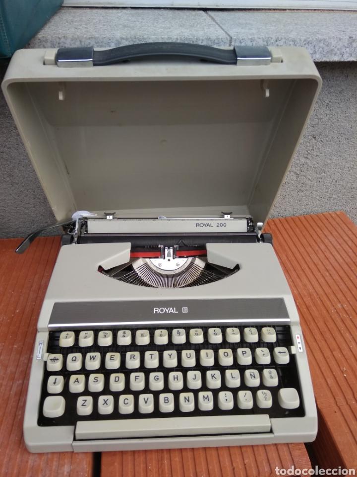 MAQUINA DE ESCRIBIR (Antigüedades - Técnicas - Máquinas de Escribir Antiguas - Royal)