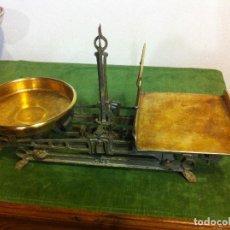Antigüedades: BALANZA AUSTRIACA FUERZA 5KG DE PAQUETERIA CON PLATO CUADRADO (BB 02). Lote 114716159