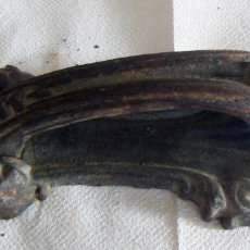 Antigüedades: ANTIGUO LLAMADOR O ALDABA DE FORJA. Lote 114728059
