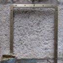 Antigüedades: ANTIGUA VENTANA DE BARCO HACIA 1930 - 58X41CM - 20MM GRUESO DEL MARCO 4.7KG + INFO. Lote 114836335