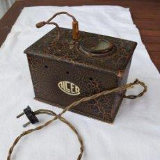 Antigüedades: ANTIGUO TRANSFORMADOR-REDUCTOR ELÉCTRICO . Lote 114854371