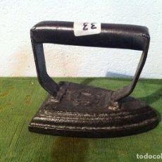 Antigüedades: BONITA PLANCHA MACIZA DE HIERRO DE LA UNION CERRAJERA (PMA33). Lote 114925027