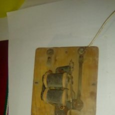 Antigüedades: ANTIGUO TIMBRE DE BOBINAS. Lote 114960651