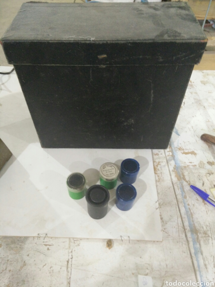 Antigüedades: Antiguo proyector manual - Foto 10 - 114999736