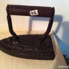 Antigüedades: PLANCHA DE HIERRO MACIZA Nº 3 DE LA MARCA L&C DE PRINCIPIOS DEL S.XX (PMA42). Lote 115004343