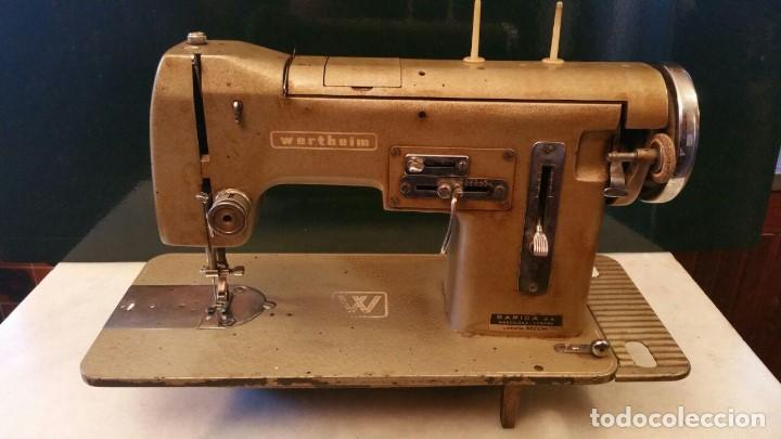 Maquina de coser wertheim modelo r-270 automati - Vendido