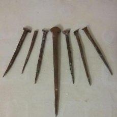 Antigüedades: CLAVOS DE FORJA. Lote 115031543