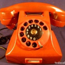 Teléfonos: TELÉFONO DE BAQUELITA ERICSSON. FUNCIONA. Lote 49851162