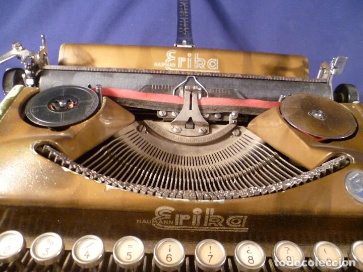 Antigüedades: MAQUINA DE ESCRIBIR ERIKA - Foto 13 - 97941107