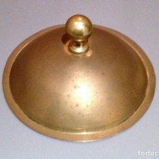 Antigüedades: MOLINO MOLINILLO TAPA DE TOLVA MOLINO DE CAFE PEUGEOT FRERES MODELO C, Ø 15CM.. Lote 115040419