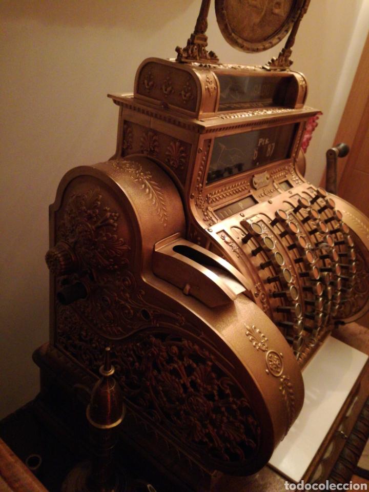 Antigüedades: Máquina registradora National. - Foto 2 - 114323827