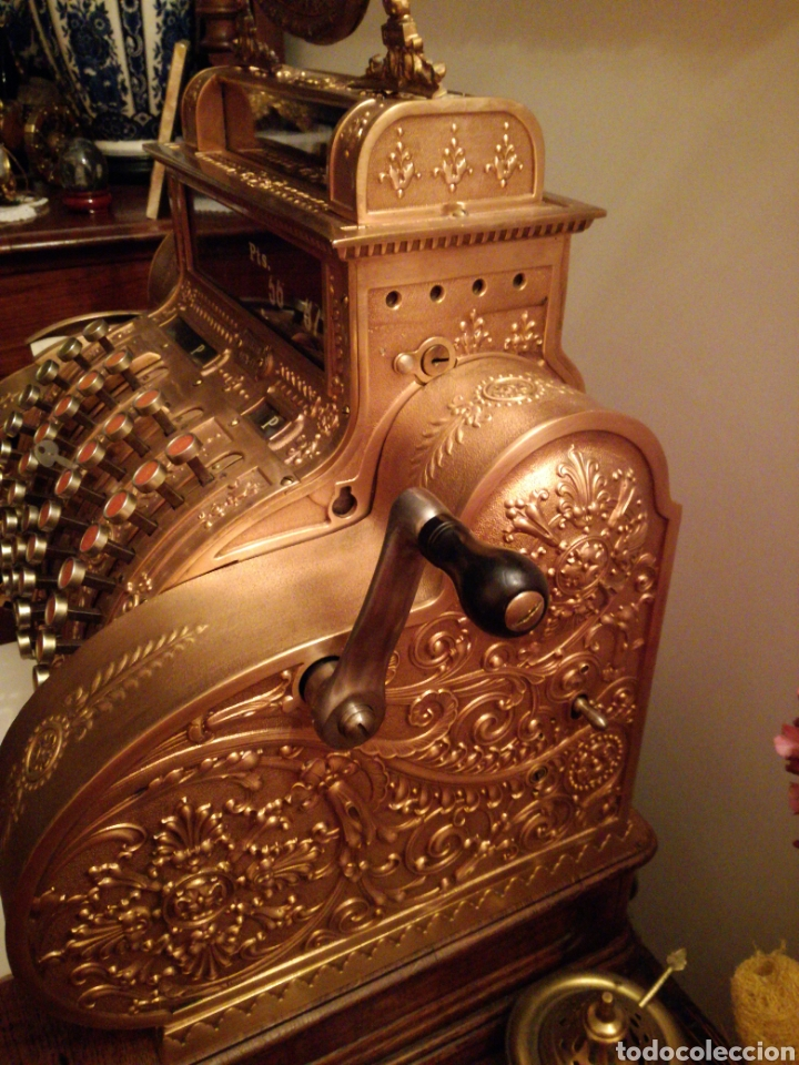 Antigüedades: Máquina registradora National. - Foto 3 - 114323827