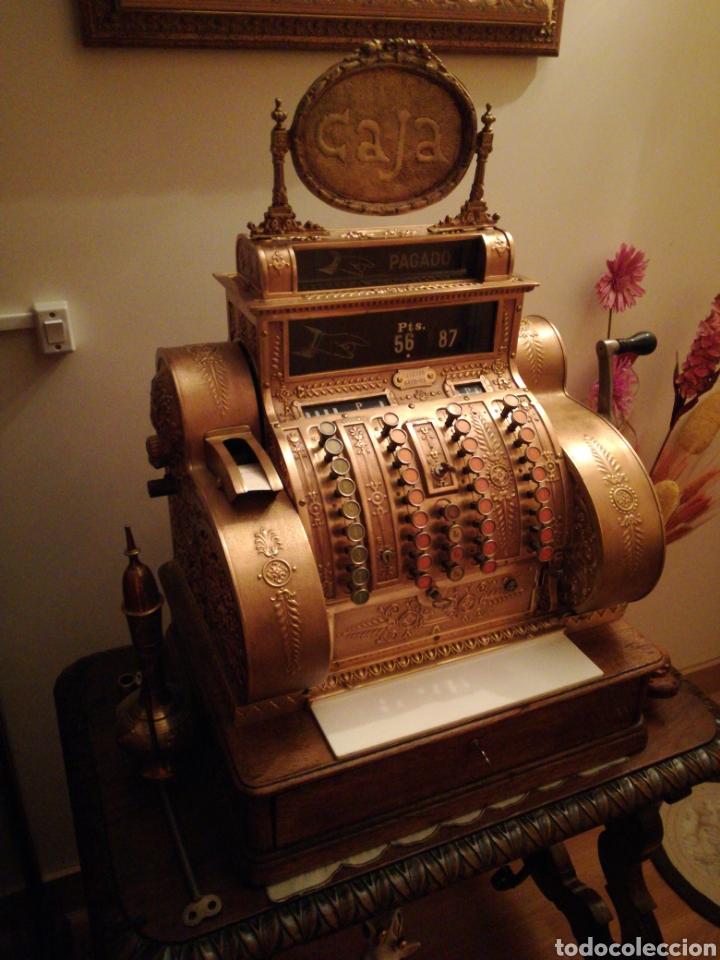 Antigüedades: Máquina registradora National. - Foto 4 - 114323827