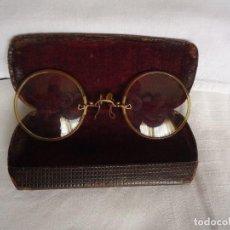 Antigüedades: GAFAS QUEVEDO CON FUNDA. Lote 115102355
