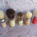 Antigüedades: LOTE DE BROCHAS DE BARBERO. Lote 115105010