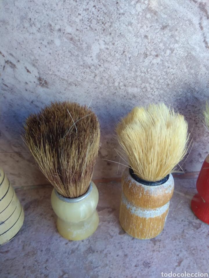 Antigüedades: Lote de Brochas de Barbero - Foto 6 - 115105010