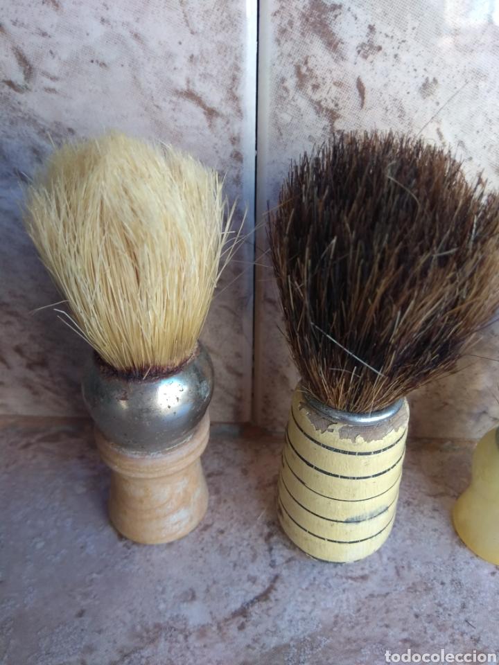 Antigüedades: Lote de Brochas de Barbero - Foto 7 - 115105010