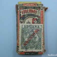 Antigüedades: CUCHILLAS DE AFEITAR EN CAJA ORIGINAL. TOLEDO. Lote 115186867
