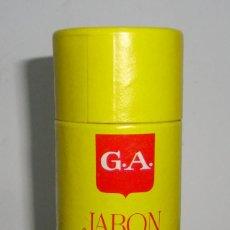 Antigüedades: (TC-114) PASTILLA JABON PARA AFEITAR G.A. GOTA DE AMBAR SIN USAR NUEVA. Lote 115252467
