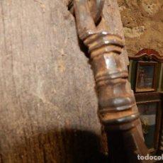 Antigüedades: ANTIGUO LLAMADOR HIERRO DE FORJA DEL XIX ARQUITECTÓNOCO BONITA BELLOTA EN LA PUNTA . Lote 115319575