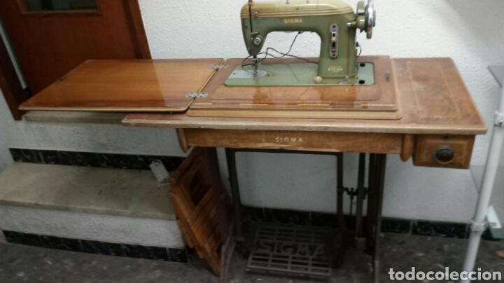 Maquina de coser sigma -modelo h -fabricada en - Vendido