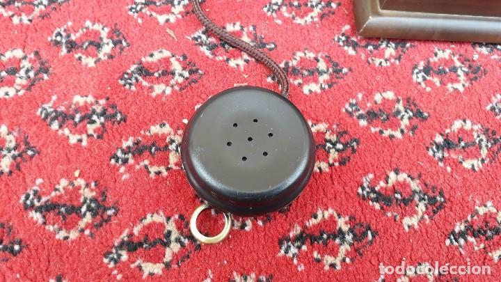 Teléfonos: Teléfono antiguo retro vintage, réplica teléfono siglo XIX, nuevo, funciona. - Foto 3 - 115344775