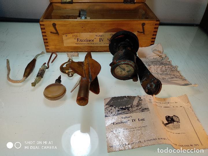 Antigüedades: ANTIGUA CORREDERA WALKER´S EXCELSIOR IV - CON INSTRUCCIONES Y CAJA ORIGINAL - MADE IN ENGLAND - - Foto 14 - 115358239