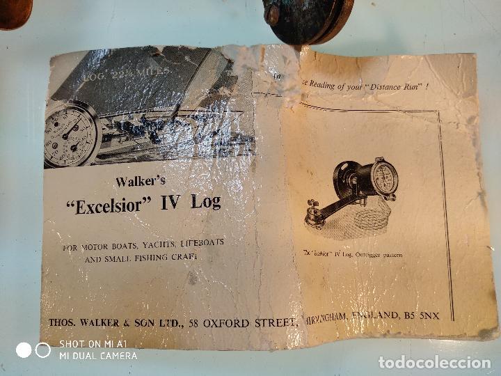 Antigüedades: ANTIGUA CORREDERA WALKER´S EXCELSIOR IV - CON INSTRUCCIONES Y CAJA ORIGINAL - MADE IN ENGLAND - - Foto 15 - 115358239