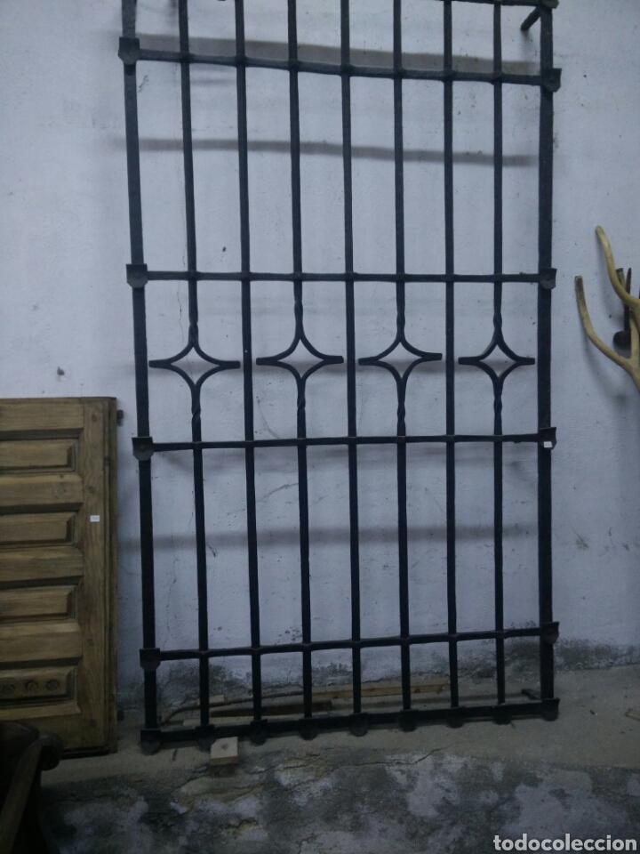 ANTIGUA REJA DE FORJA (Antigüedades - Técnicas - Cerrajería y Forja - Forjas Antiguas)